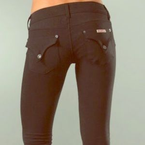 Hudson Black Skinny Jeggings